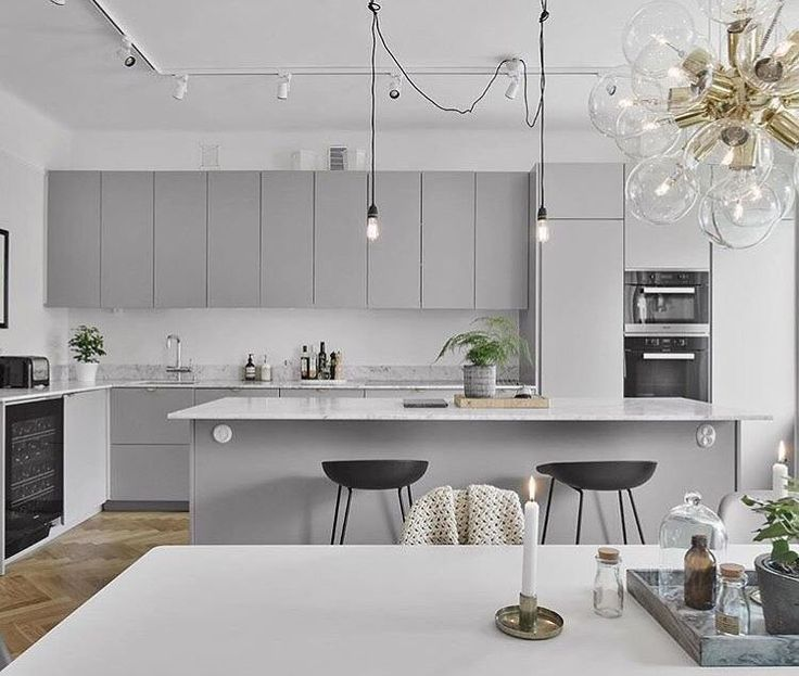 Grey Kitchens Best Designs Rapflava, Grey Kitchen Design Modern