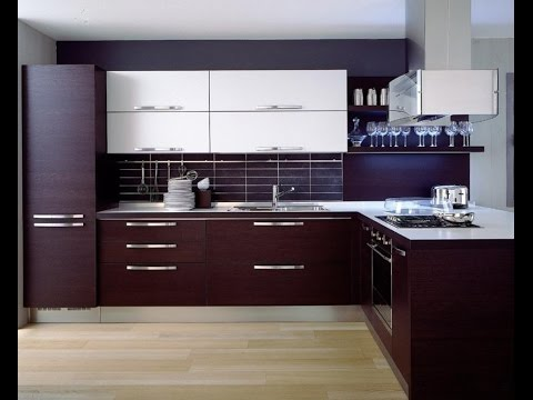 Modern Kitchen Cabinet Design - YouTube