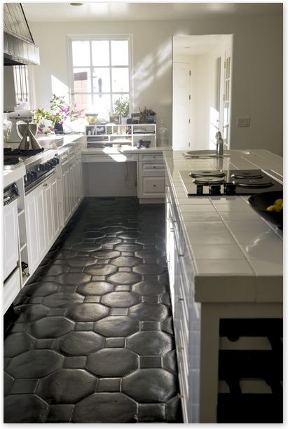 Best 10 Modern Kitchen Floor Tile Pattern Ideas | Glitter, Glam