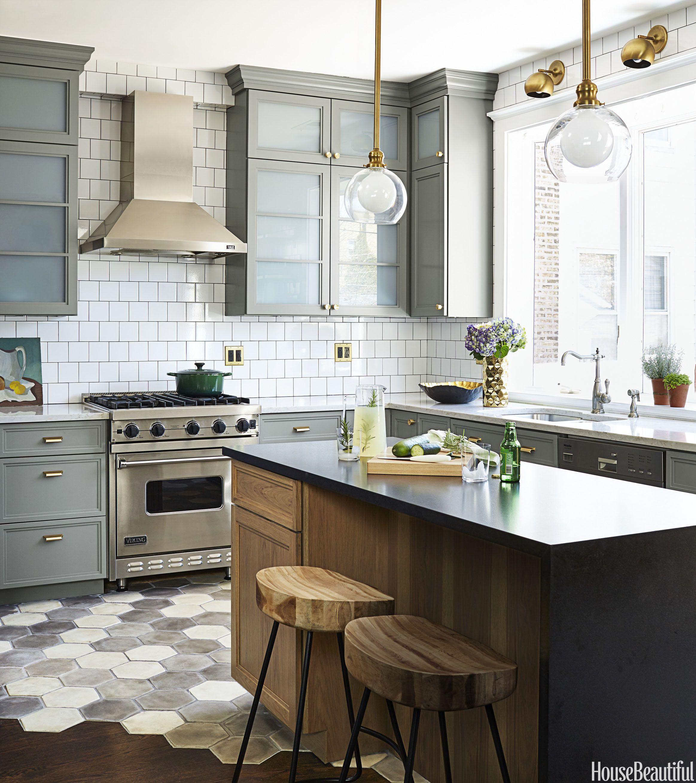 10 Best Kitchen Floor Tile Ideas & Pictures - Kitchen Tile Design Trends