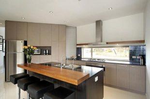 modern kitchen island with breakfast bar - Google Search | Ideas for