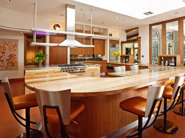 Larger Kitchen Islands: Pictures, Ideas & Tips From HGTV | HGTV