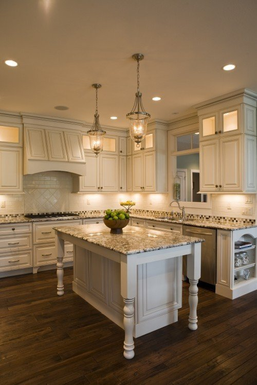 Kitchen Island With Granite Top And Breakfast Bar - Ideas on Foter