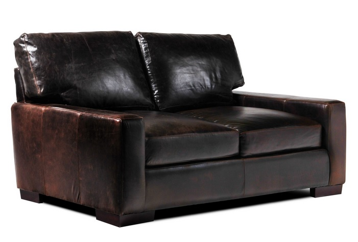 Modern leather loveseats for small spaces u2013 DesigninYou
