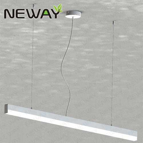 36W 48W 1200MM 1500MM Modern Linear Suspension Pendant Lighting,led