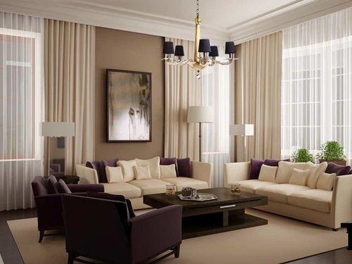 Appealing Modern Living Room Curtains - mathwatson