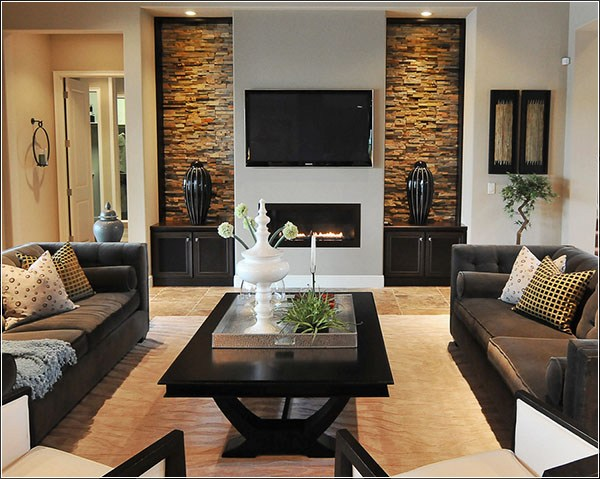 Decorating Ideas For Small Living Rooms On A Budget Intended For