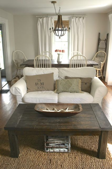Budget Living Room / Dining Room Makeover Reveal! - Nest of Bliss