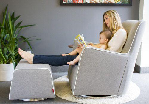 Grazia Glider | Nursery | Nursery glider chair, Swivel glider