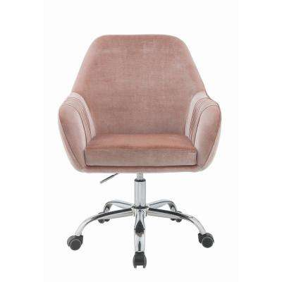 Modern - Metal - Pink - Office Chairs - Home Office Furniture - The