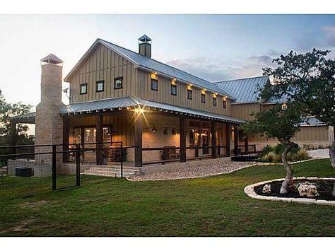 10+ Great Ideas for Modern Barndominium Plans | dream home. | Steel