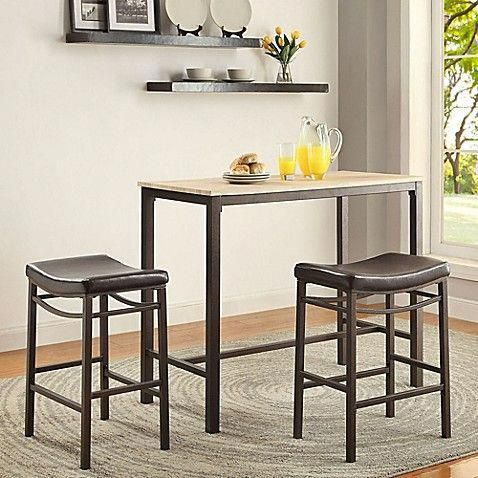 Designed for small spaces, the Betty Pub Set is perfect in any