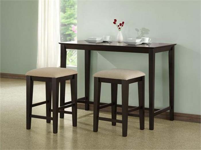 Small Room Design: designing interior small dining room table set
