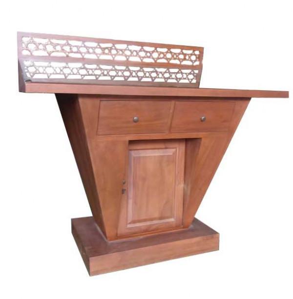 Modern Bimah Synagogue Torah Reading Table - ahuva.com