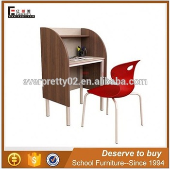 Modern Library Reading Room Table Student Library Study Carrels