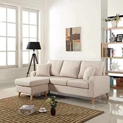 Amazon.com: DIVANO ROMA FURNITURE Mid Century Modern Linen Fabric