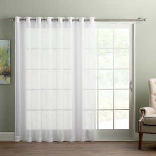 Sliding Door Curtains | Wayfair