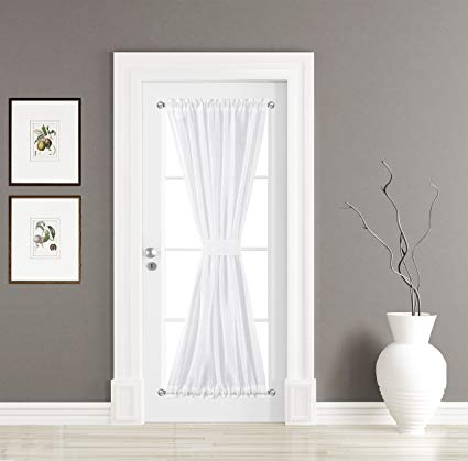 Amazon.com: BETTER HOME USA French Door Curtain Panel 30W by 72L