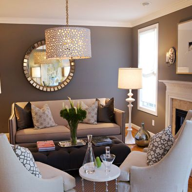 80+ Small Living Room Ideas | Mirrors | Living room grey, Home Decor