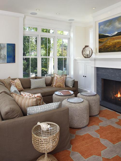 Contemporary Small Living Room   all home interior ideas