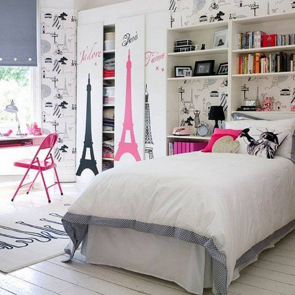 Trendiest ideas for modern teenage girl bedroom design ideas