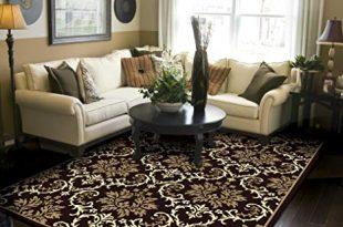 Amazon.com: Modern Area Rugs Black 5x8 Rugs for Living Room 5x7