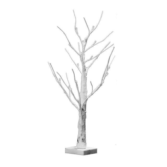 60cm Height Silver Birch LED Lights Modern Tree Lamp Landscape Table
