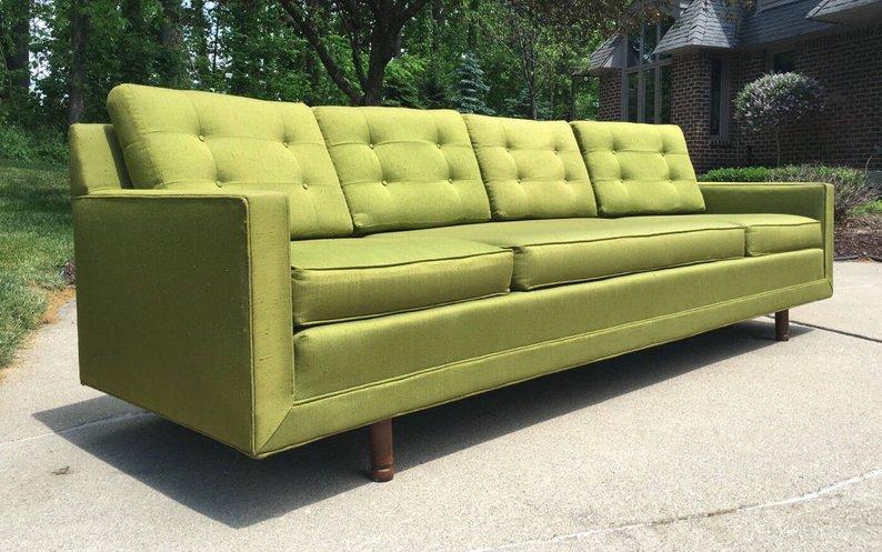 Modern Vintage Sofa Retro
