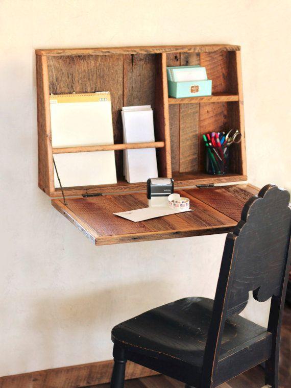 Modern Wall Mounted Fold Out Desk