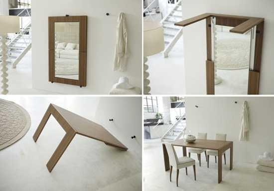 Small Wall Table Ideas | Modern Minimalist Home Design