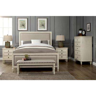 Modern - White - Bedroom Furniture Set - Bedroom Furniture