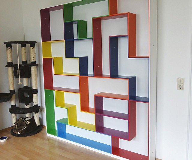 Tetris Modular Shelving & Storage Unit