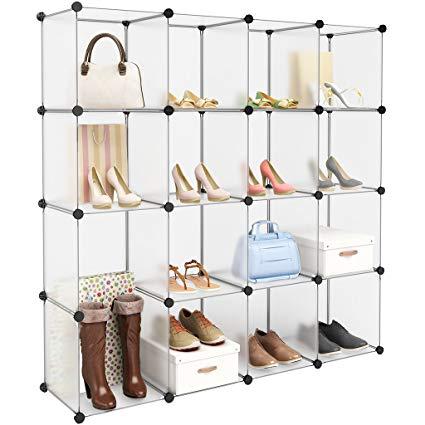 Amazon.com: LANGRIA 16-Cube Modular Clothes Shelving Storage