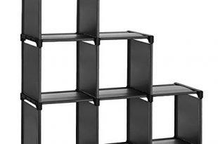 Amazon.com: SONGMICS 6 Cube Storage Shelves, DIY Modular Bookshelf