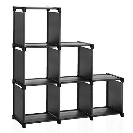 Modular Bookshelf With Storage