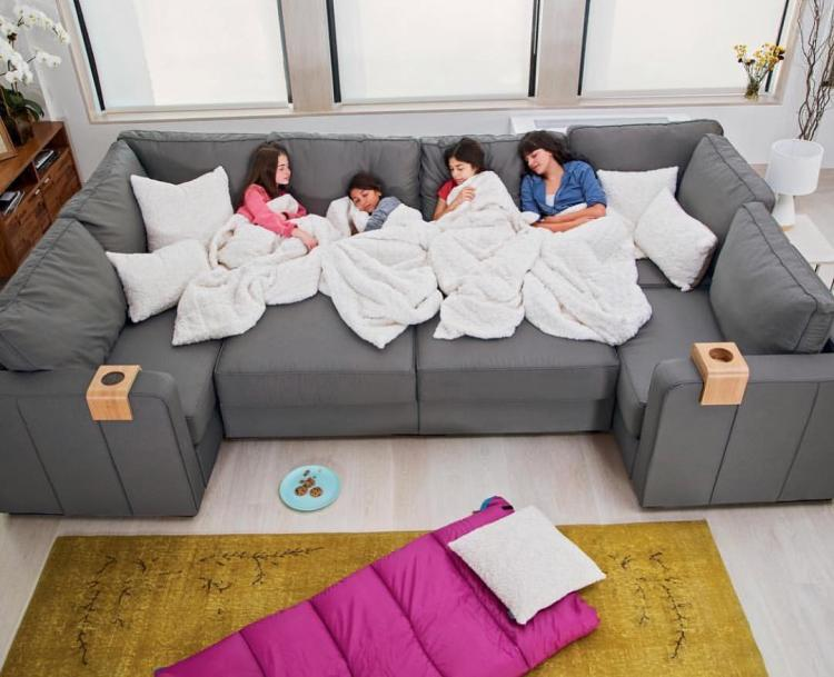 Sactional: Modular Couch Lets You Create Any Seating Arrangement
