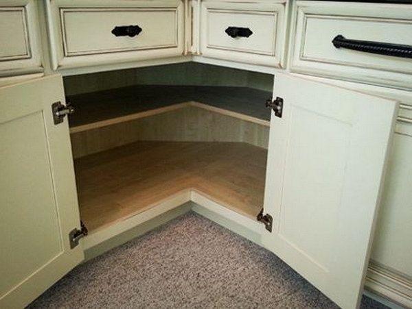 Kitchen Corner Cabinet Storage Ideas | For the Home | Kitchen