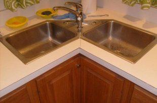Give luxurious designs to modular kitchen with corner kitchen sink