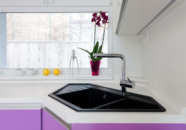 ? 15 Cool Corner Kitchen Sink Designs | Home Design Lover
