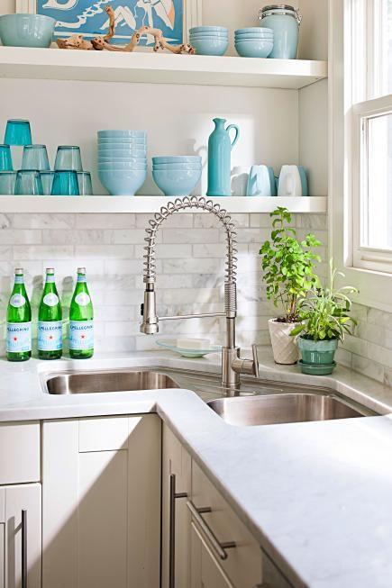 42 Inspiring Corner Kitchen Sink - Home Decorating Inspiration