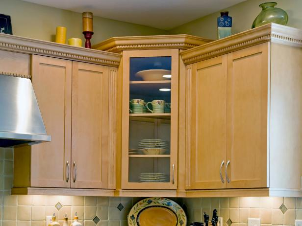Corner Kitchen Cabinets: Pictures, Ideas & Tips From HGTV   HGTV