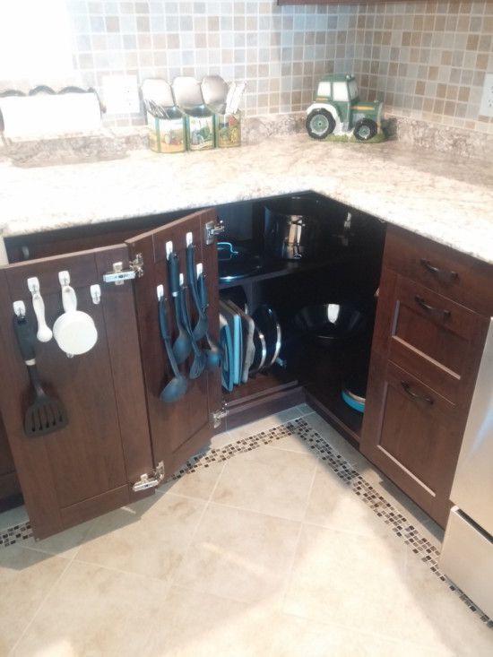 Maximising the kitchen corner cabinet | Kitchen | Apartment kitchen