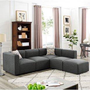 6 Piece Modular Sectional Sofa | Wayfair