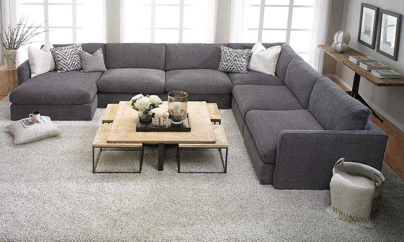 Lincoln Park Handmade Modular Sectional | Haynes Furniture