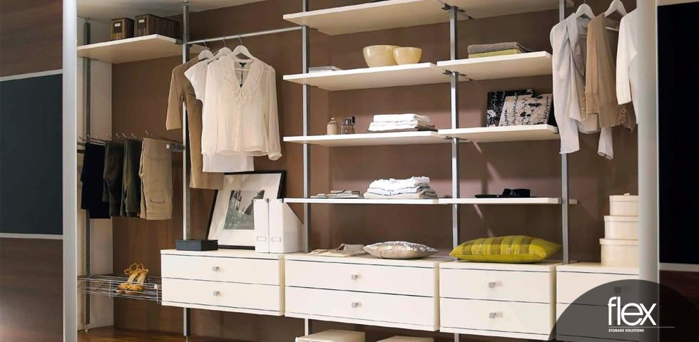 Spacepro Flex System | Wall | Wardrobe storage, Sliding wardrobe