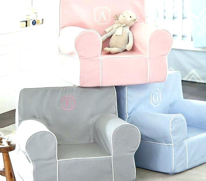 Monogrammed Toddler Chair