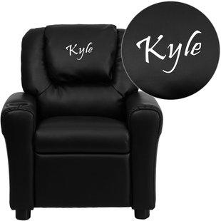 Monogram Kids Chair | Wayfair