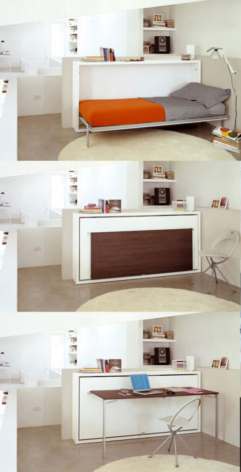 9 + Awesome Space-Saving Furniture Designs | Home/Decorating | Tiny