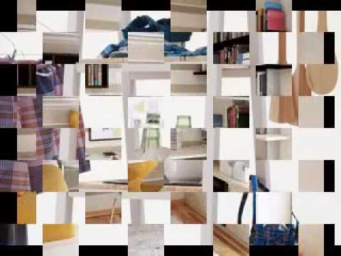 Multifunctional furniture for small spaces - YouTube