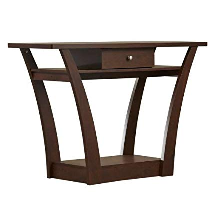 Amazon.com: Narrow Console Table with Drawer & Shelf Hall Entryway